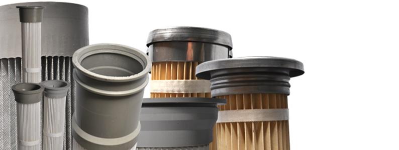 Range of pleated bag filters