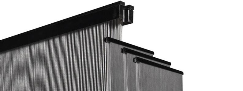 range of sintered element flat filter cartridges