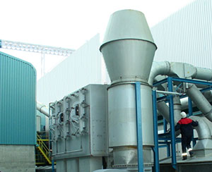 Cartridge dust extraction system