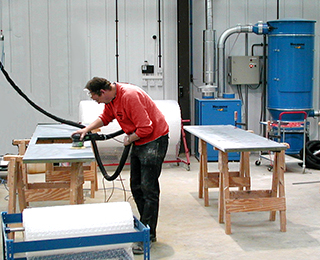 high pressure dust extraction system