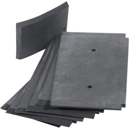 Rotary valve rubber blades